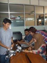 Pelatihan Robotika HMPS TI 2013